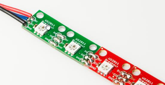 Arduino WS2812b RGBLEDS Wiring Setup · SHWotever/SimHub Wiki