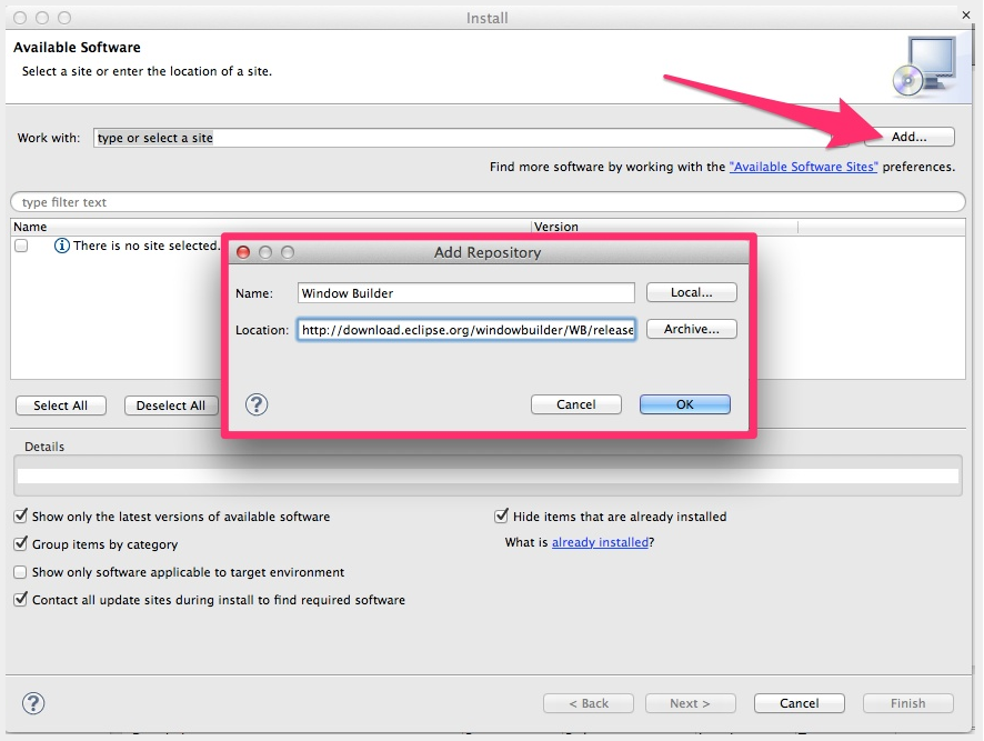 Java Gui Designer | How To Install Java Gui Designer Plugin Wiznet Wizio Tool Wiki