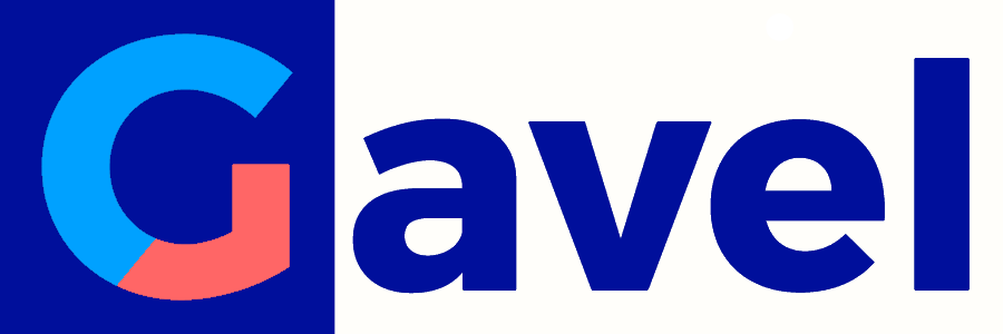 Gavel banner