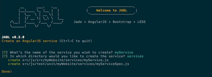 AngularJS service
