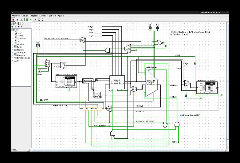 GitHub - Theldus/MSW: A simple 16-bit CPU built in Logisim