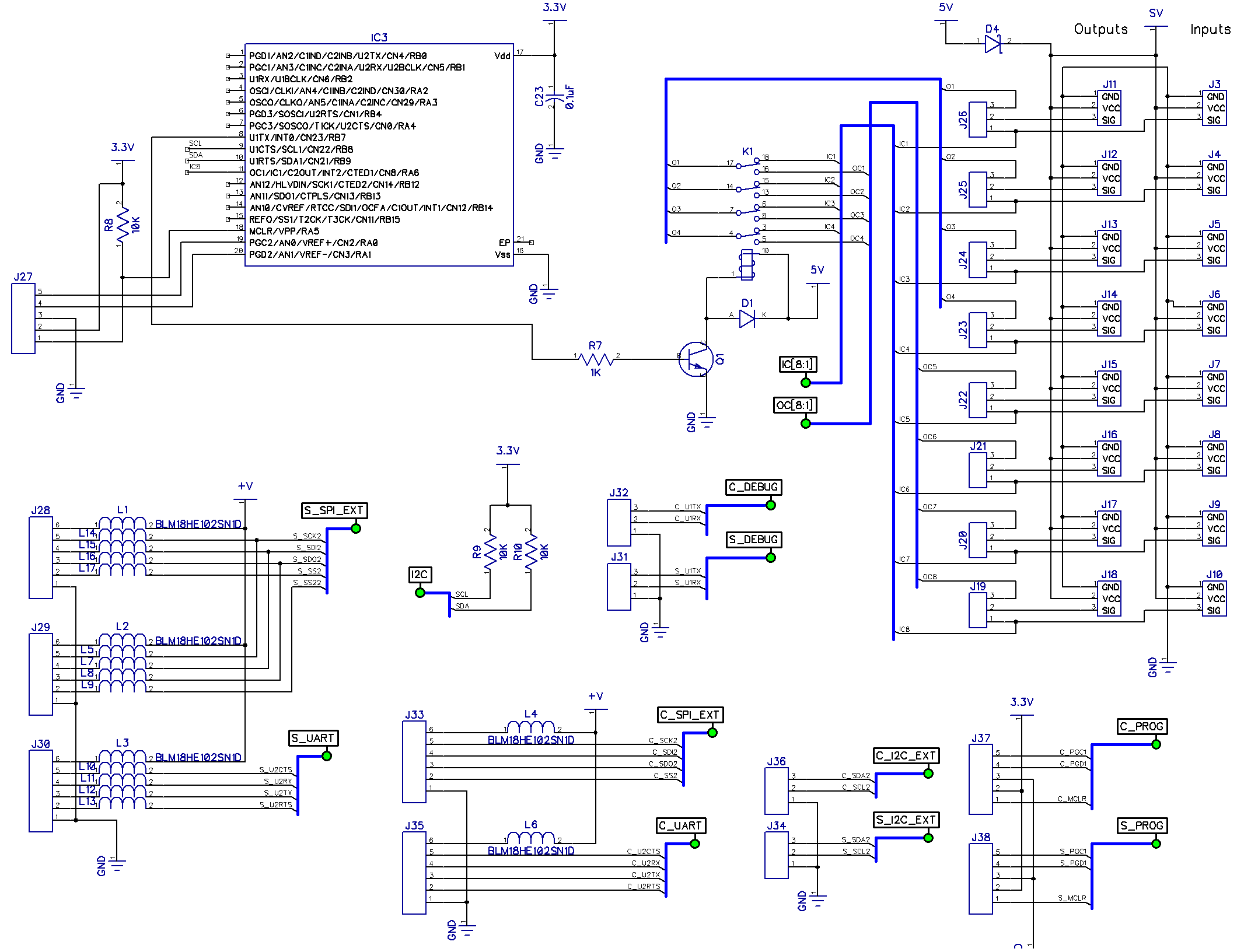Schematics And Board Design Uwarg Picpilot Wiki Github Attitude Manager Path Ports
