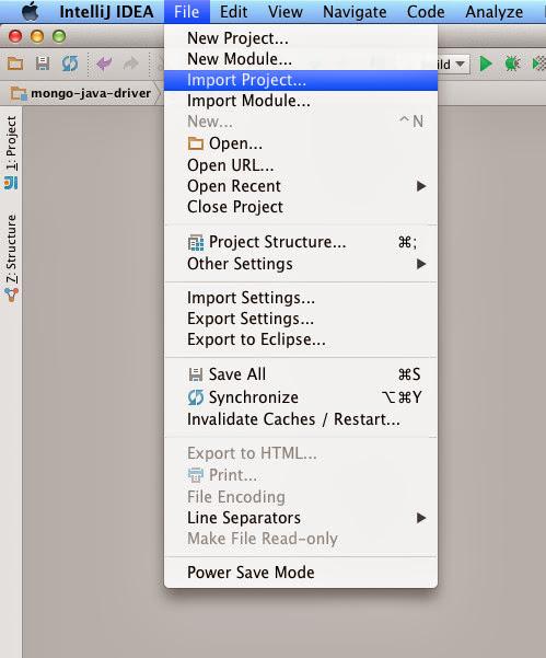 Getting Started: IntelliJ Setup · mongodb/mongo-java-driver