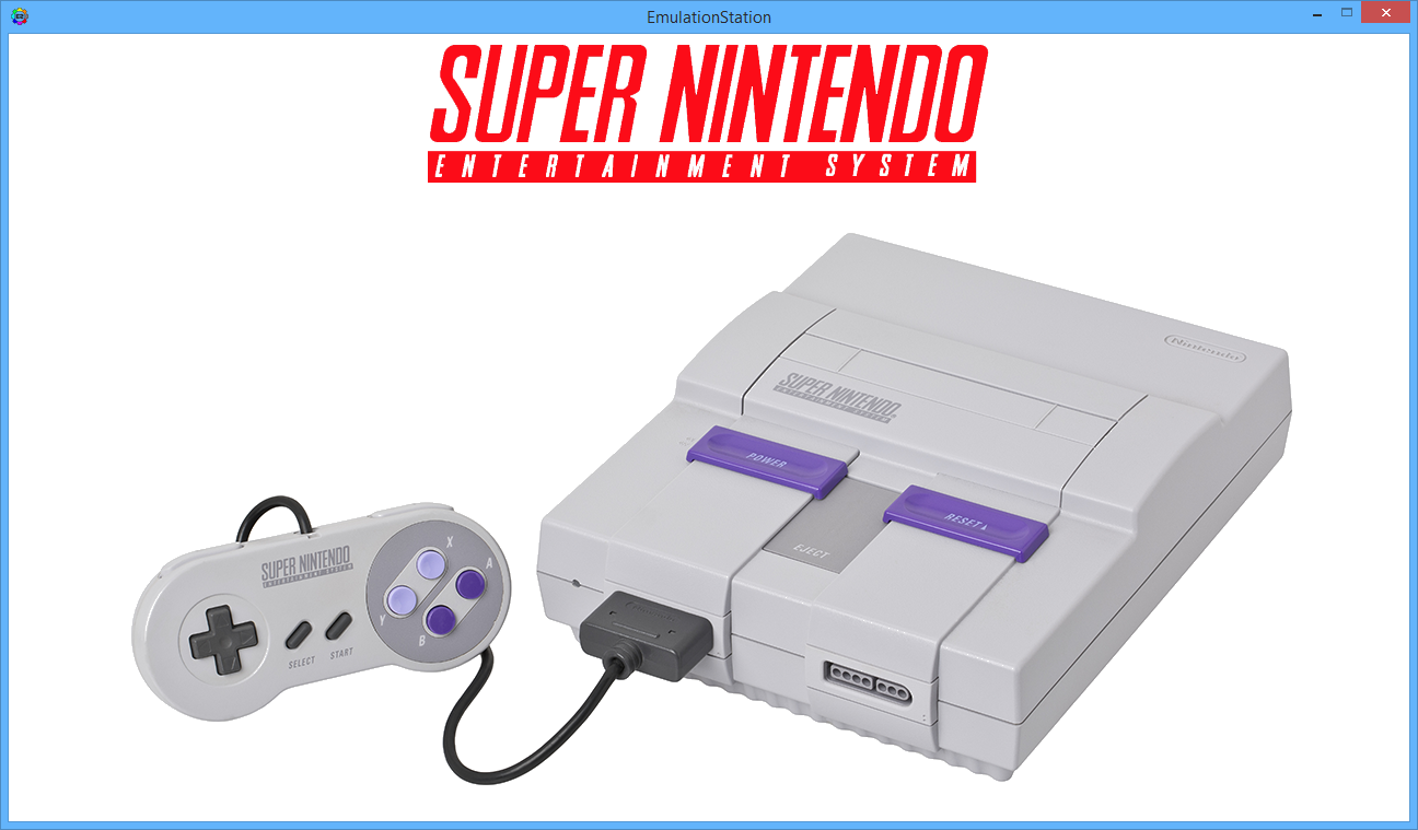 snes system select