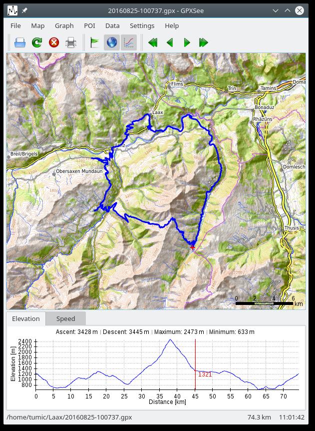 GitHub - tumic0/GPXSee: GPS log file viewer and analyzer