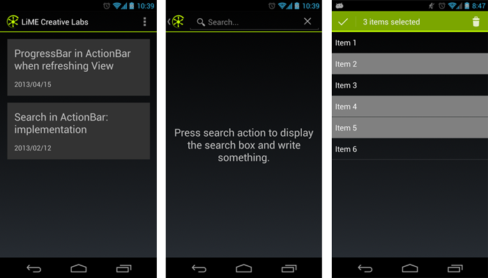 actionbarsherlock - android bar sherlock add button ...