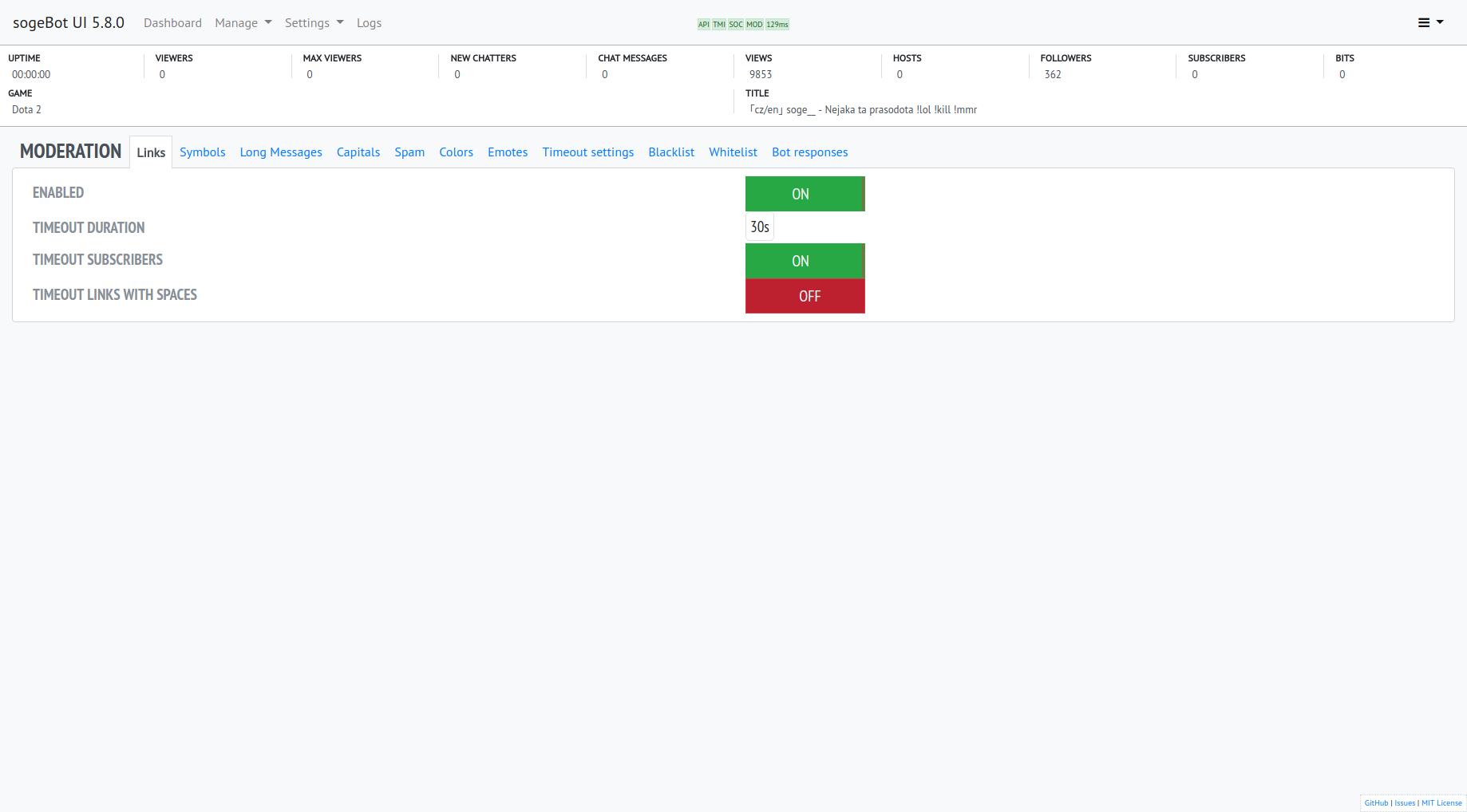 GitHub - sogehige/sogeBot: sogeBot - Free Twitch Bot built on Node js