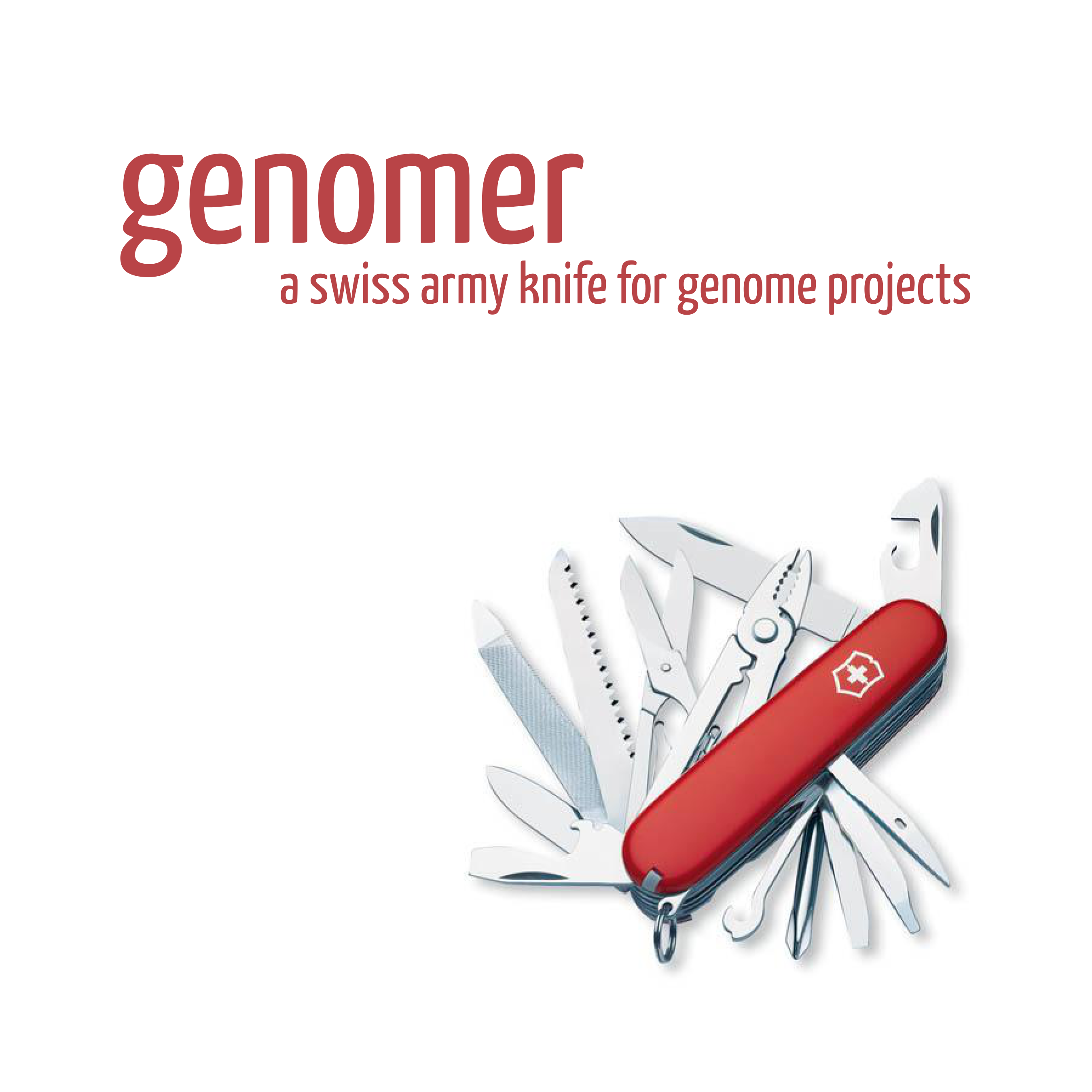 Genomer: A swiss army knife for genome projects