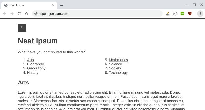 NeatCSS Screenshot