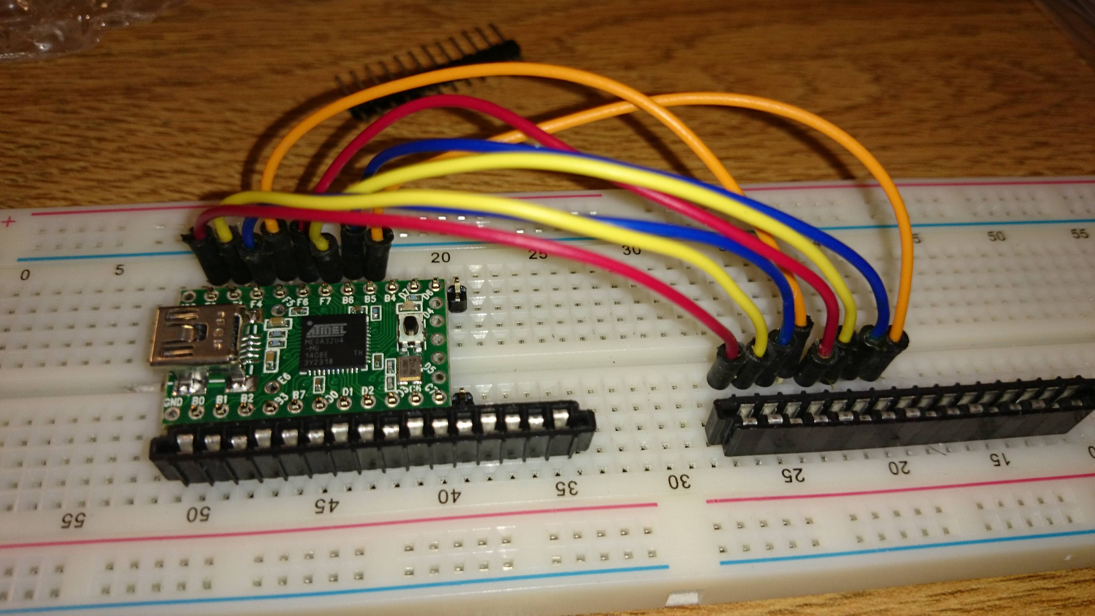 USB Controller Breadboard