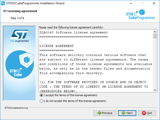 Install programmer step 3