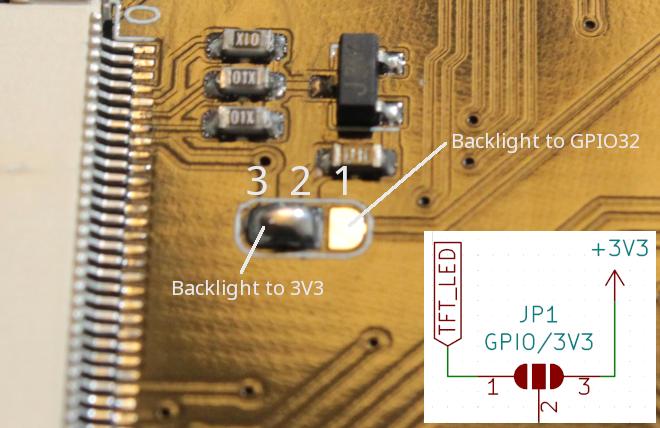 TFT Backlight Select