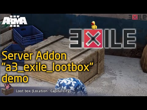 GitHub - nabeky/a3_exile_lootbox: LootBox for Arma3 Exile Mod Server