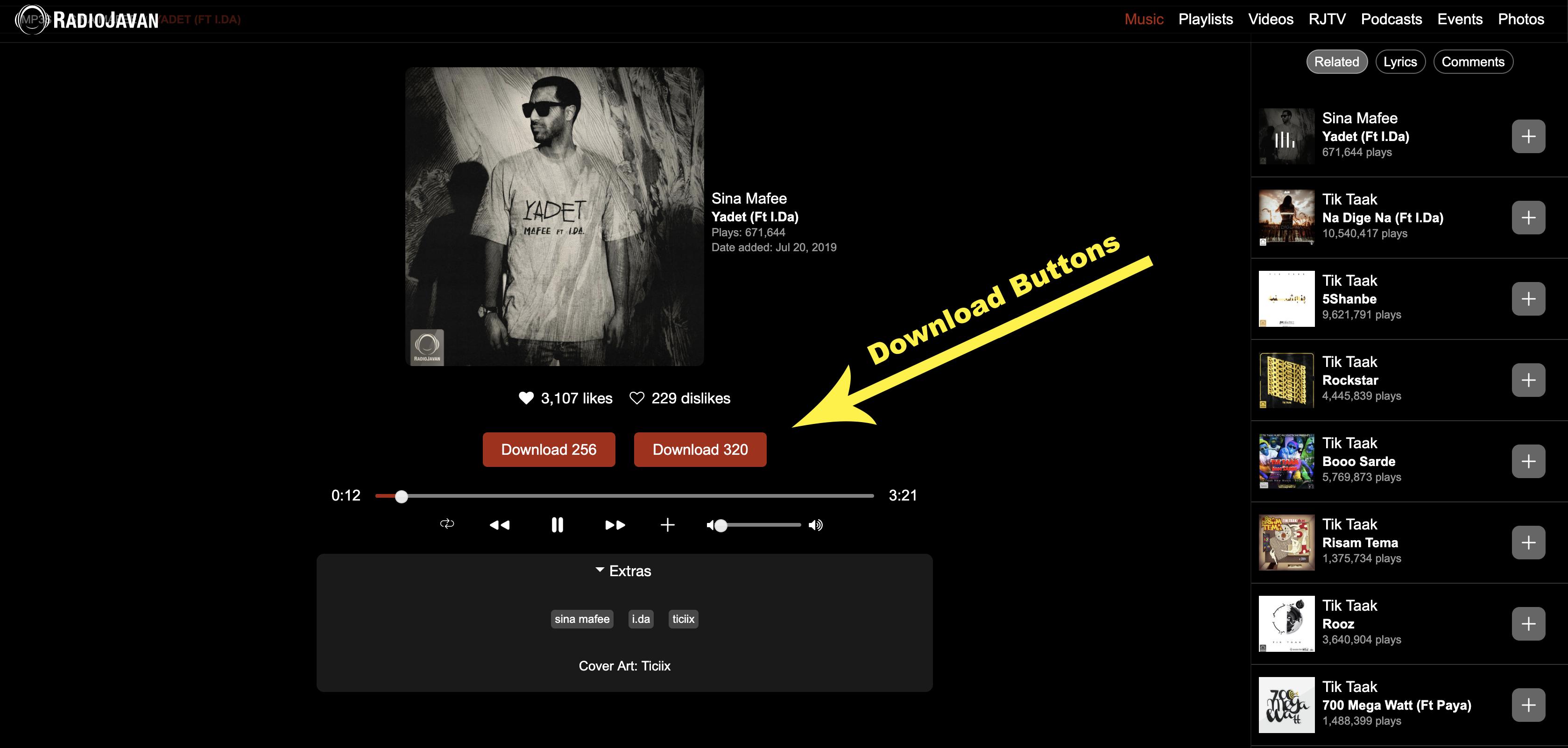 GitHub - soroushchehresa/radiojavan-downloader: 🎵 Google chrome