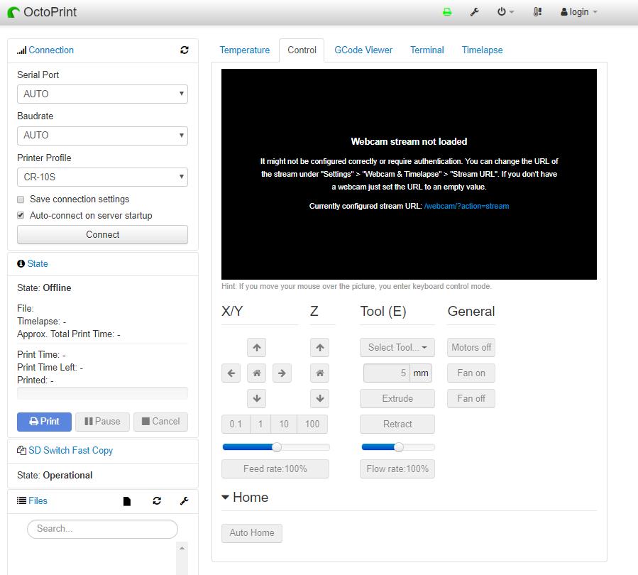 GitHub - devildant/OctoPrint-Test