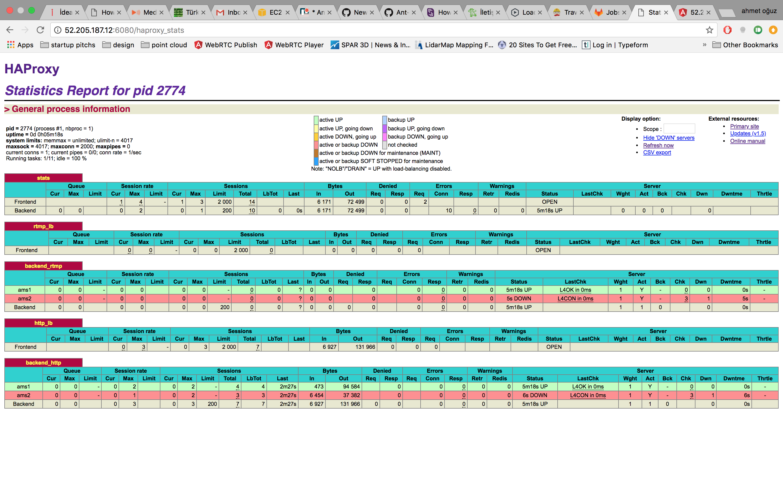 HAProxy Stats Panel