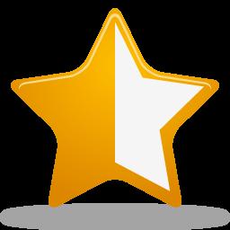 Image result for half star symbol