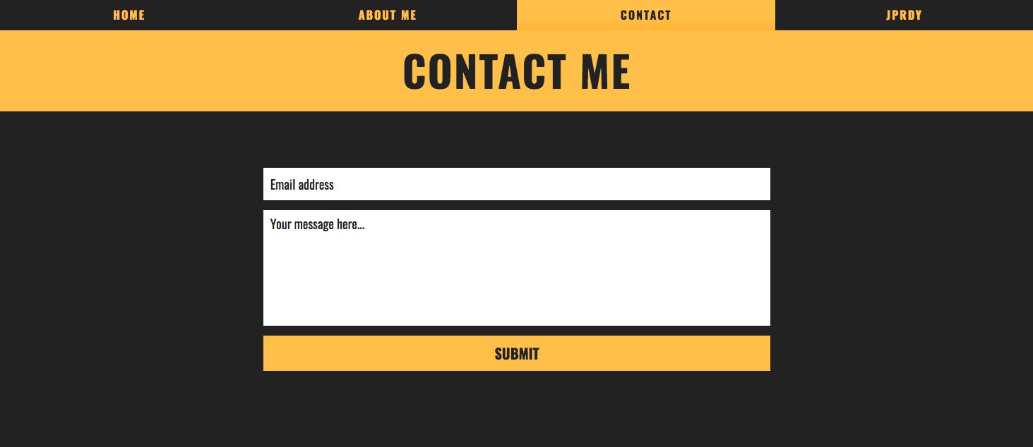 Peep contact form
