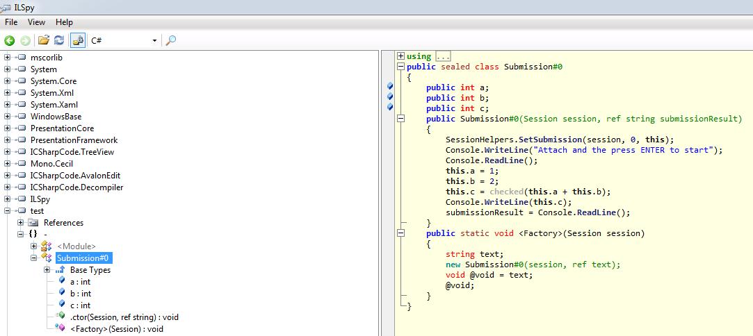 generatedCode