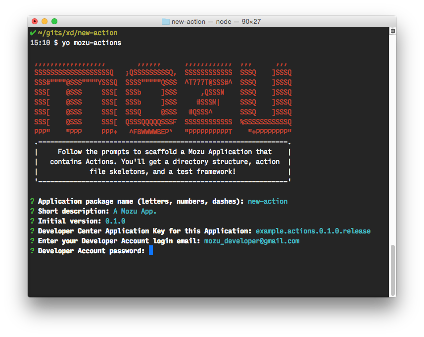 GitHub - Mozu/generator-mozu-actions: Yeoman generator for