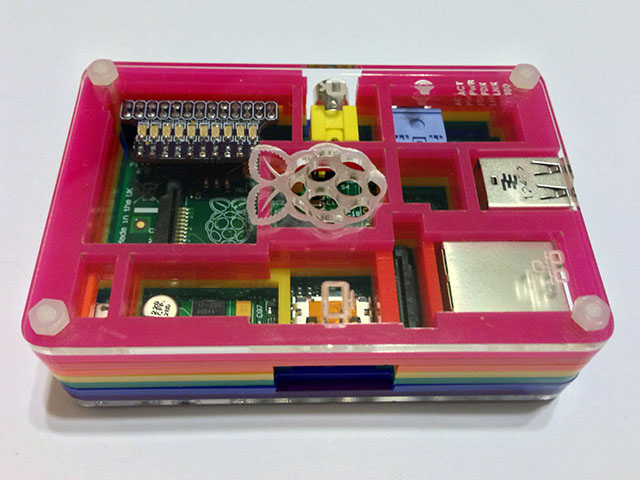 RPi LED Array inside