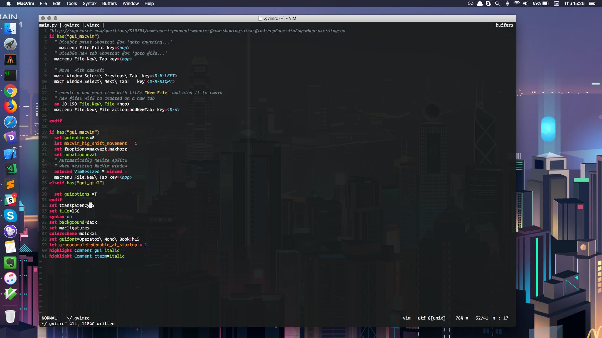 vim-screenshot