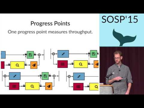 Coz presentation at SOSP 2015