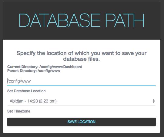 Database Path