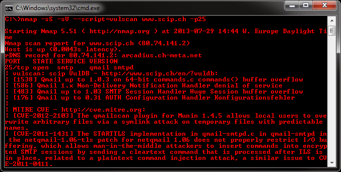 github - scipag/vulscan: advanced vulnerability scanning with nmap nse