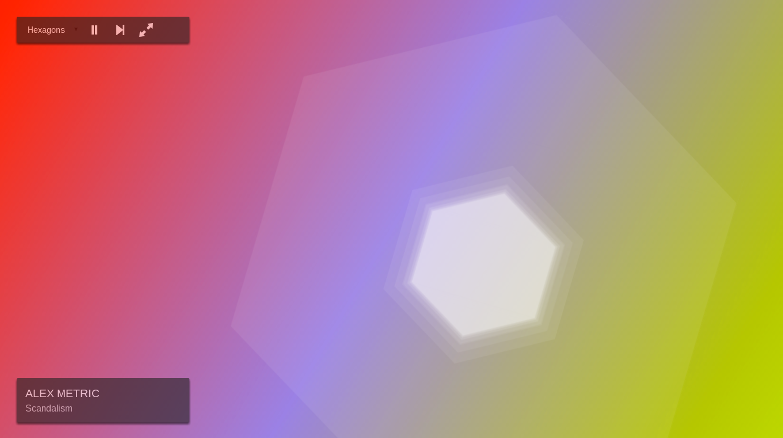 CSS Visualizer - Hexagon Mode