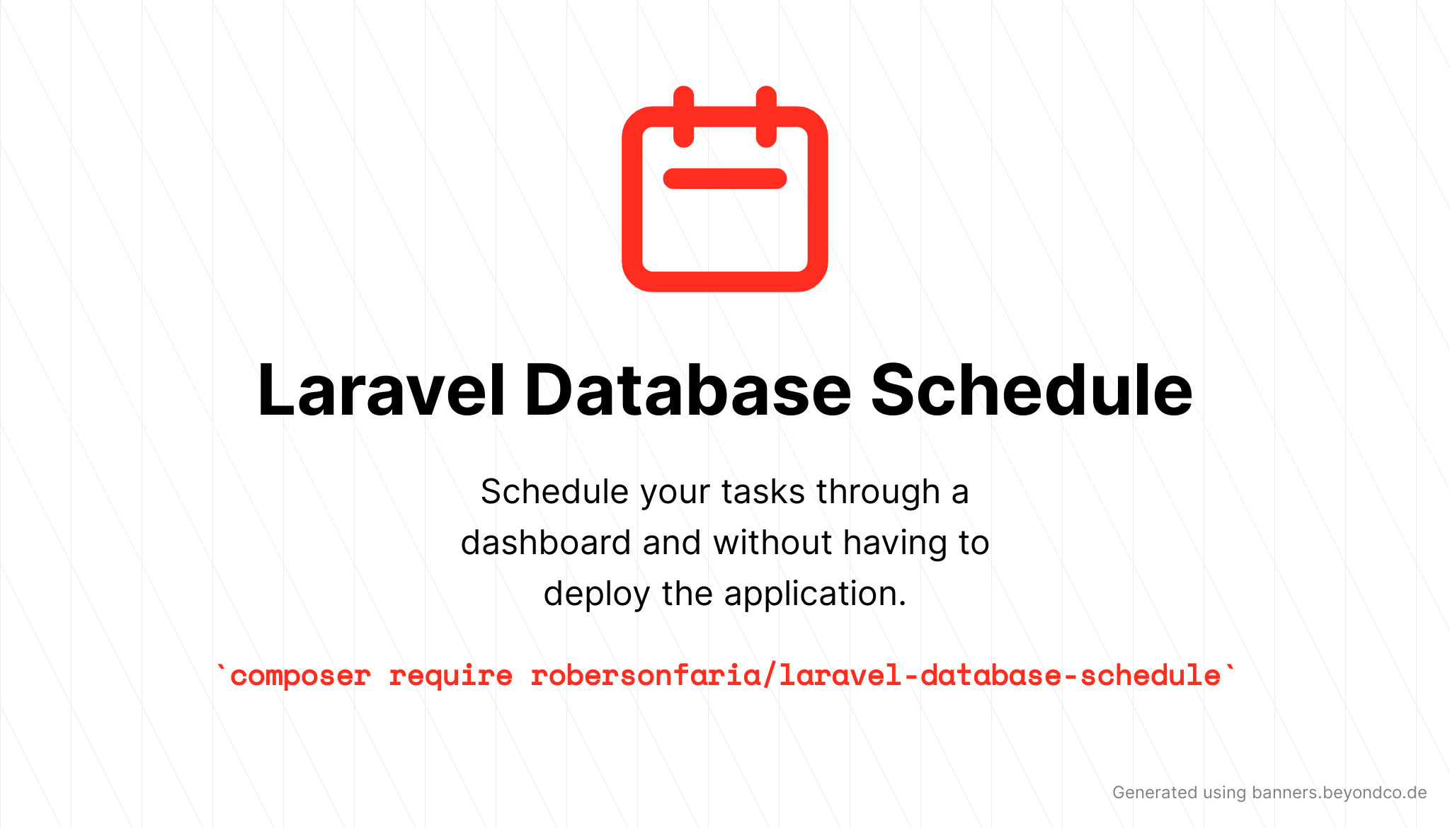 Laravel Database Schedule