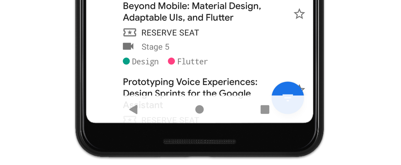 Android Q] Transparent navigation bar with extended scaffold