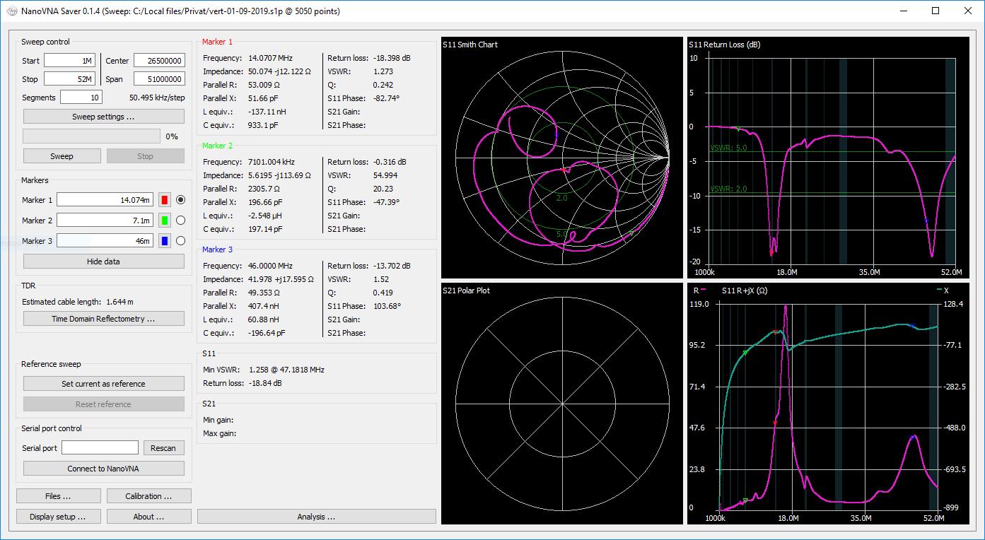 Screenshot of version 0.1.4