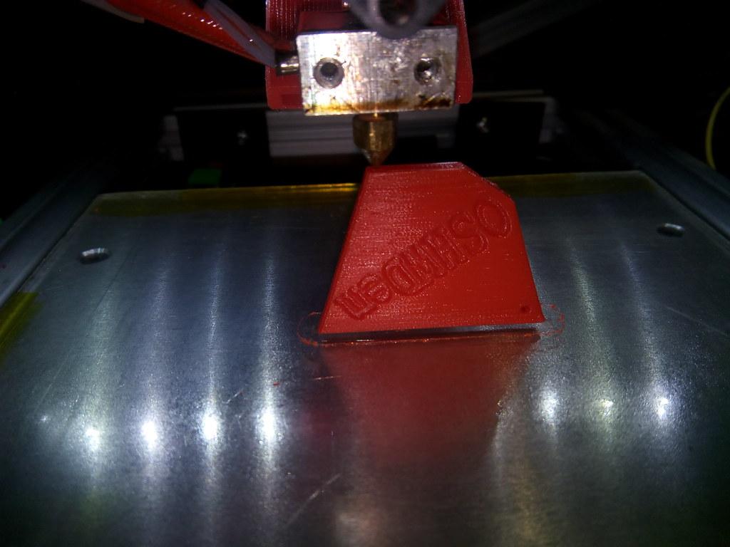 Imprimiendo una cometa de P2 para el reto