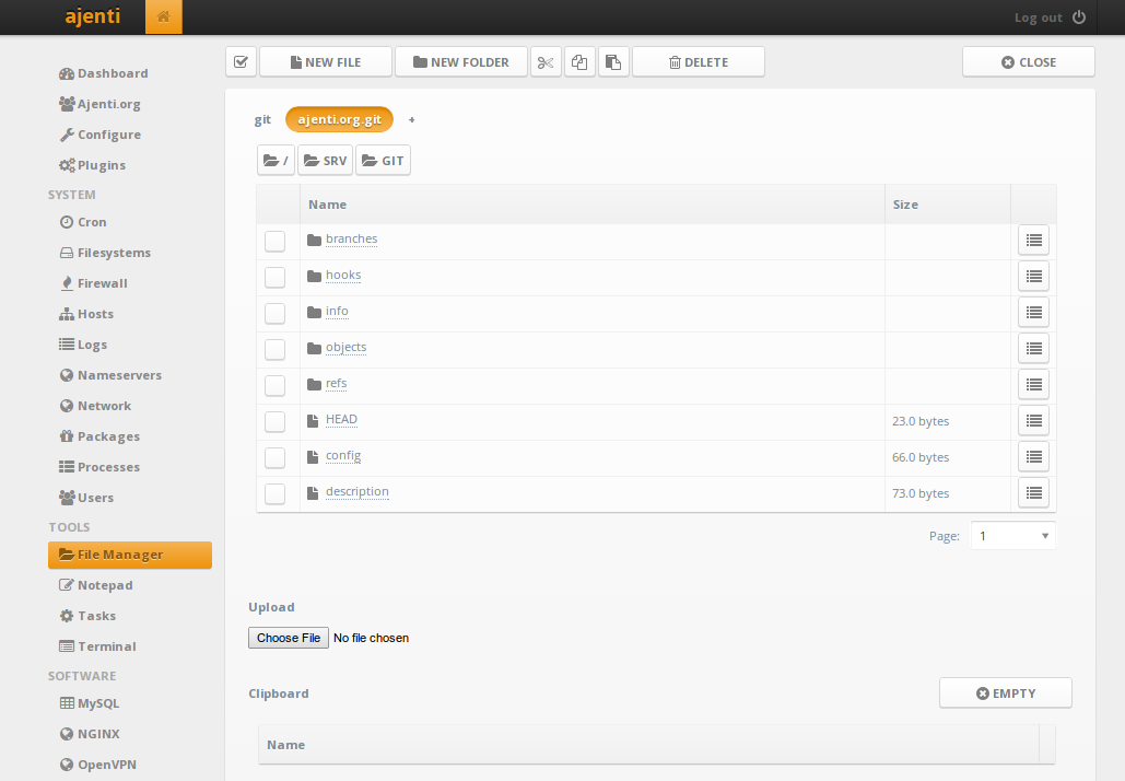 Ajenti – the web admin panel everyone wants | Never Ending Security