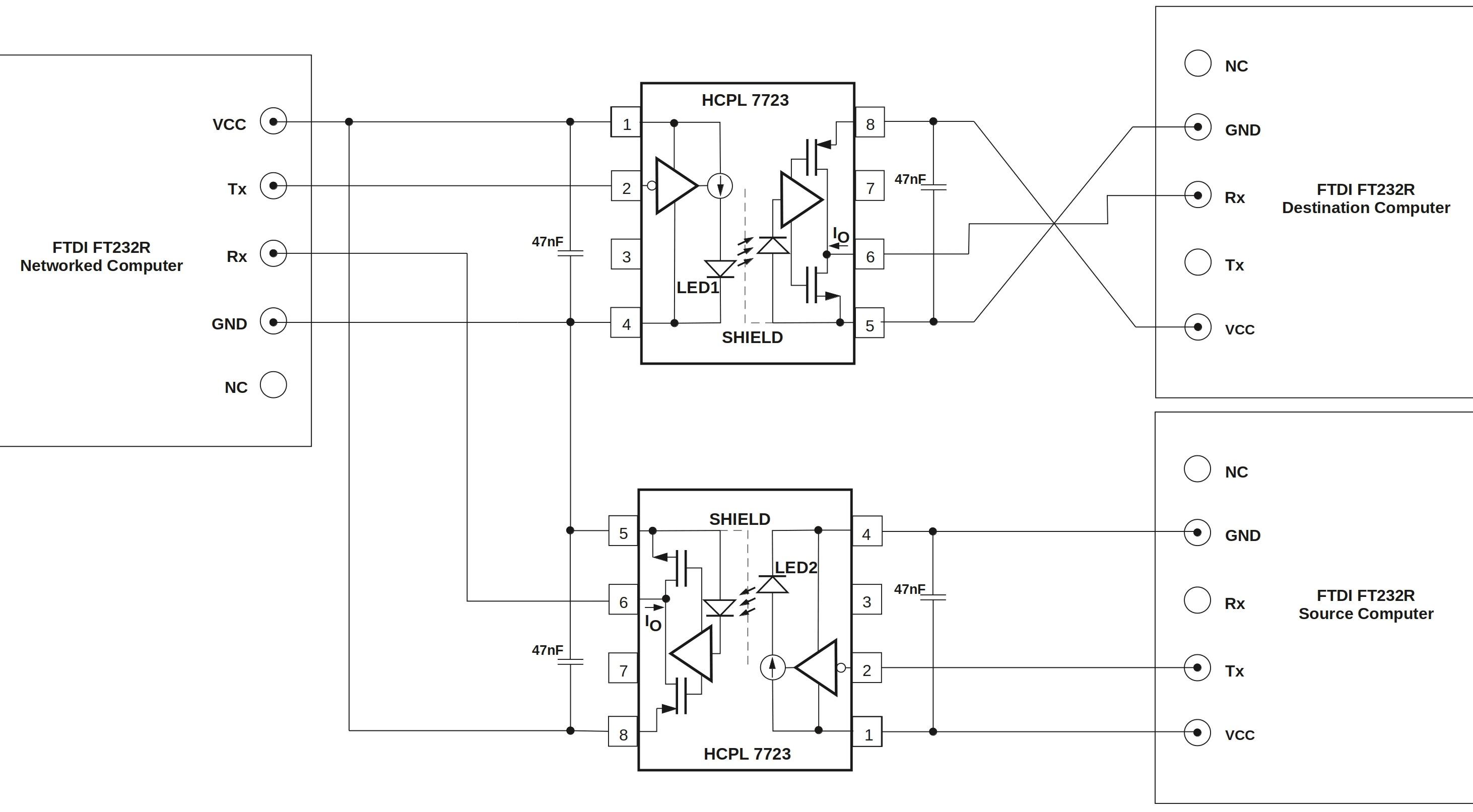 the circuit diagram