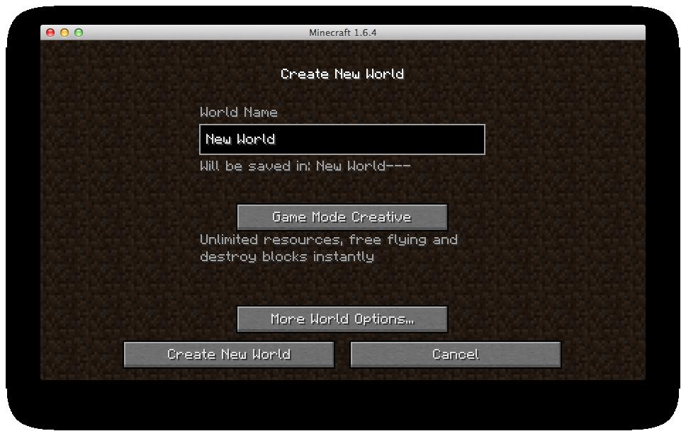 Create New World