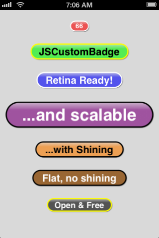 Badge Screenshot 1