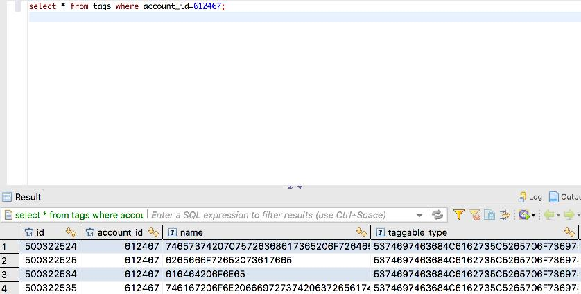 String data shows as Hex · Issue #2658 · dbeaver/dbeaver · GitHub