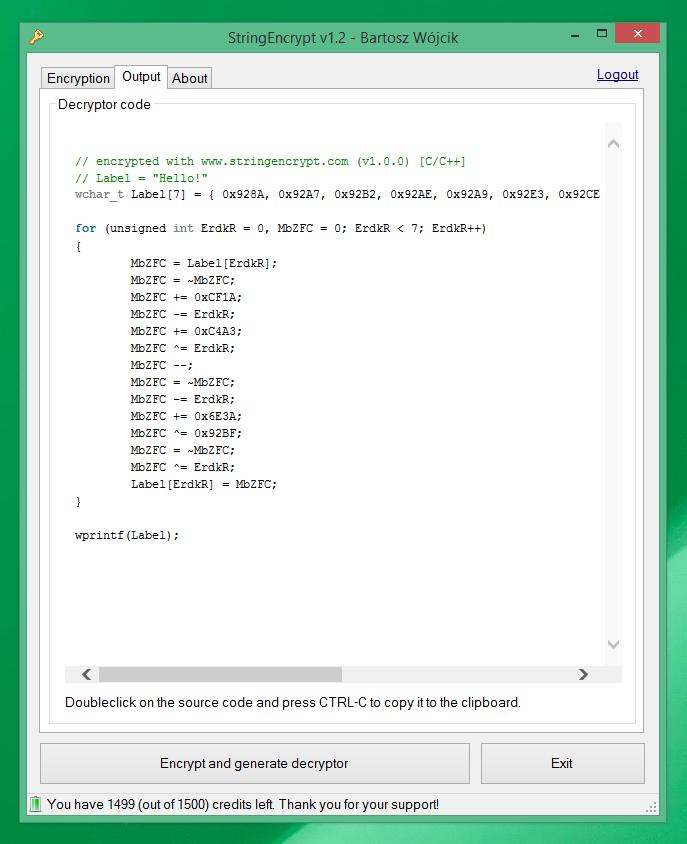 GitHub - PELock/StringEncrypt-WebAPI: String Encryption and