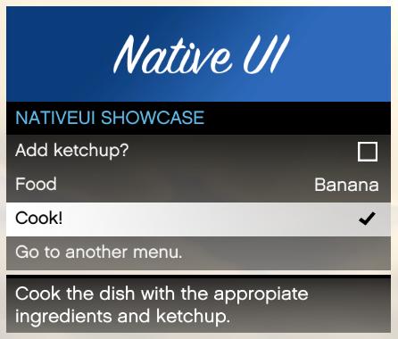 NativeUI Example
