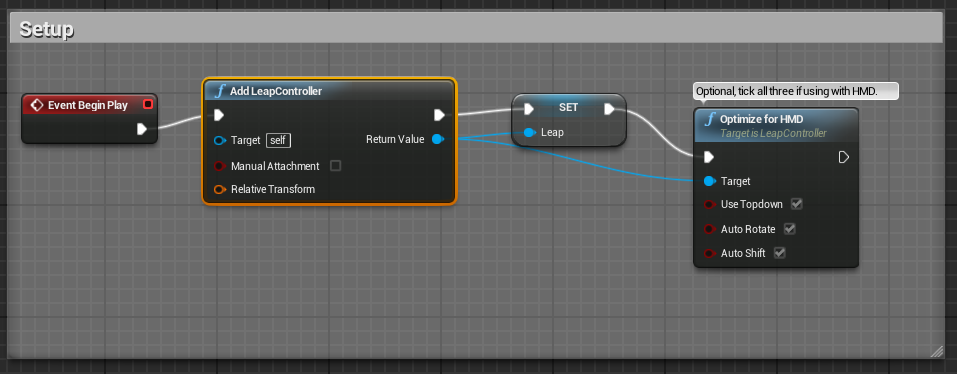 Github getnamoleap ue4 leap motion plugin for unreal engine 4 option b optional recommended drag from the return value save this as a blueprint variable eg leap malvernweather