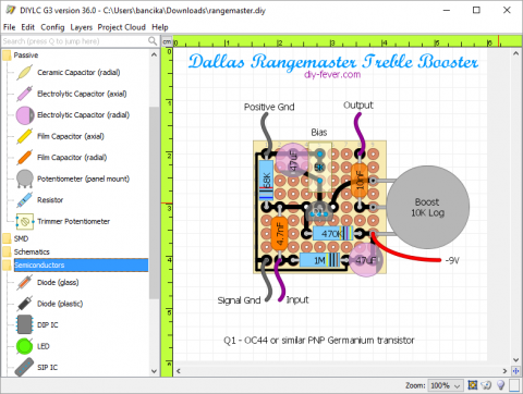 GitHub - bancika/diy-layout-creator: multi platform circuit layout ...