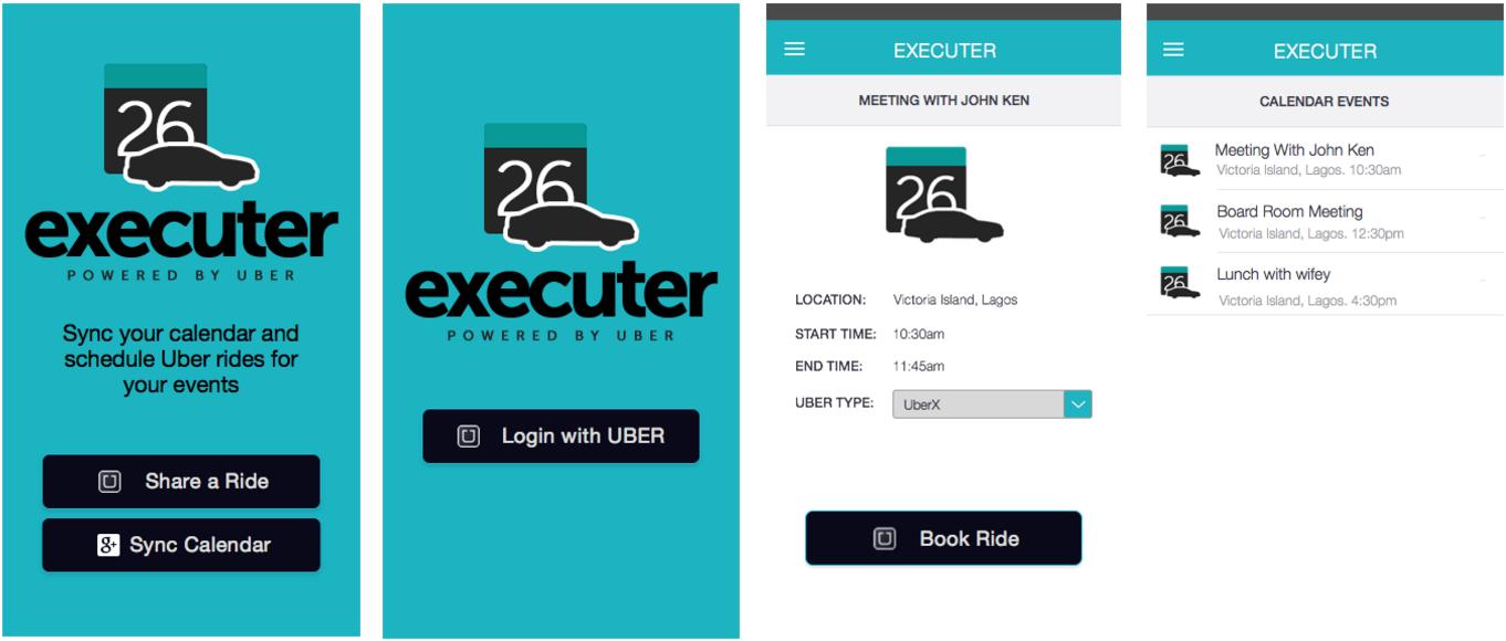 Executer Screenshots