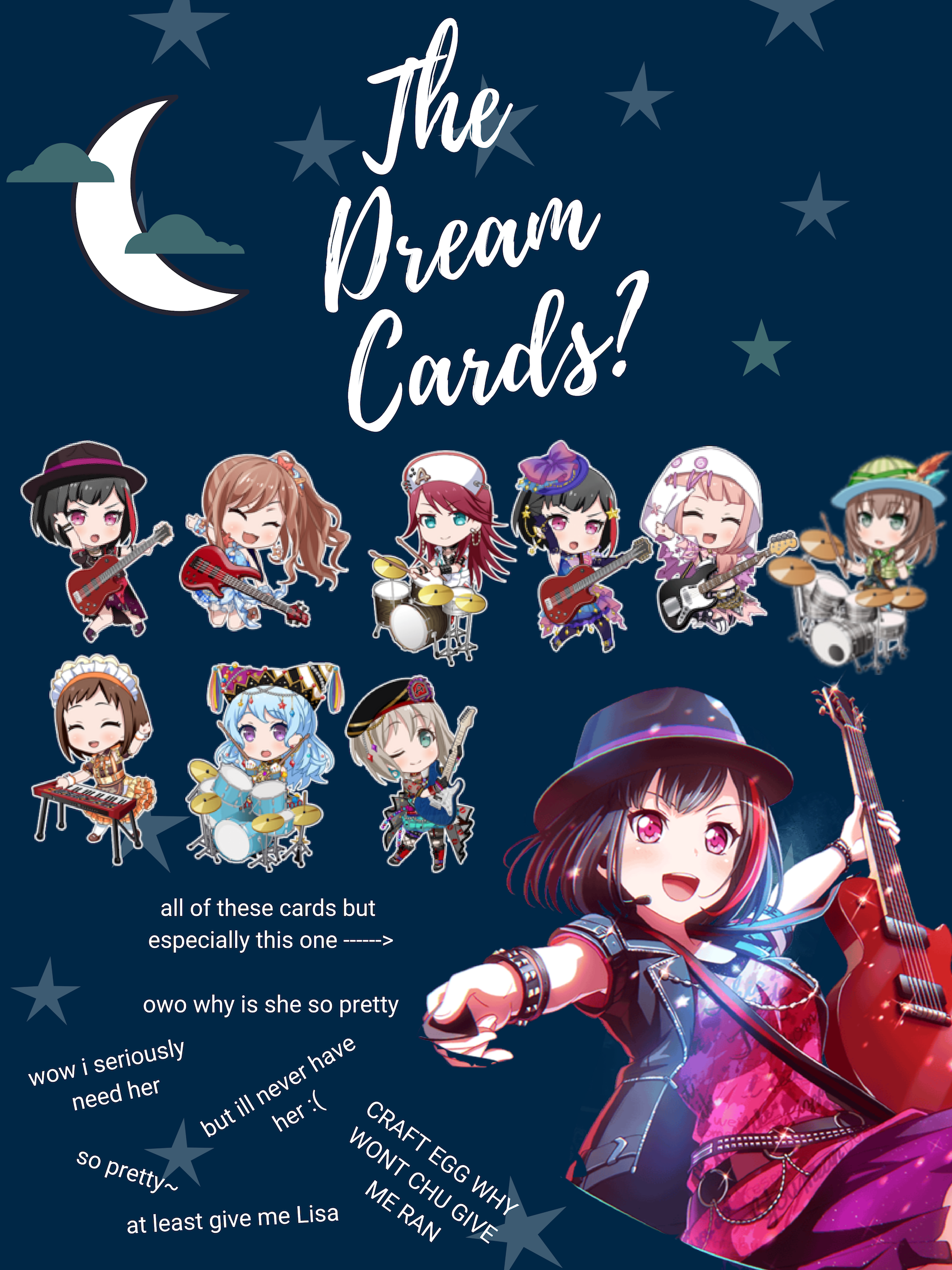 cards ill never have