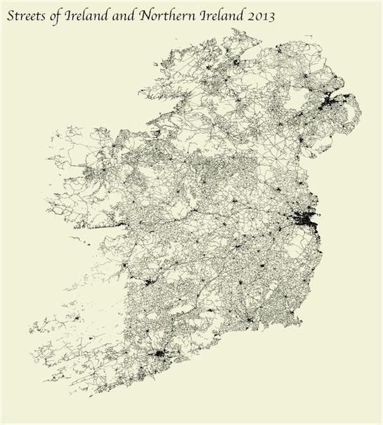 Street Map Of Ireland.Ireland Streets Map Ggplot2 Md Github