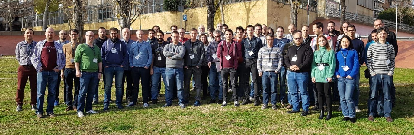 Group picture at 4th EasyBuild User Meeting @ UC Louvain