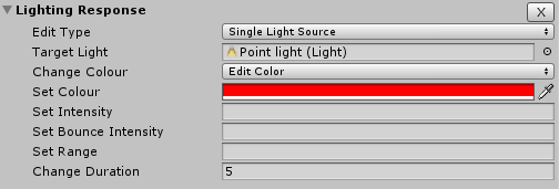Lighting Response