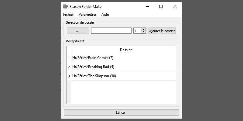 3 séries d'ajoutées