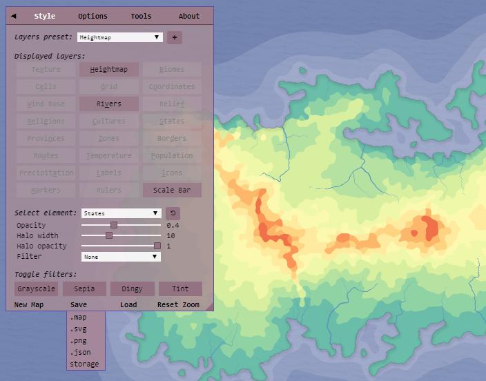 Quick Start Tutorial · Azgaar/Fantasy-Map-Generator Wiki